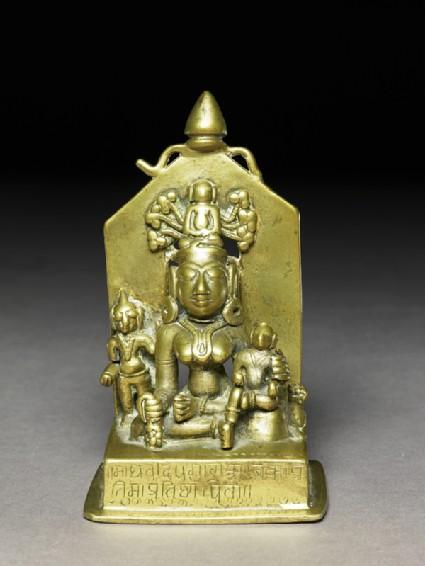 The goddess Ambikafront