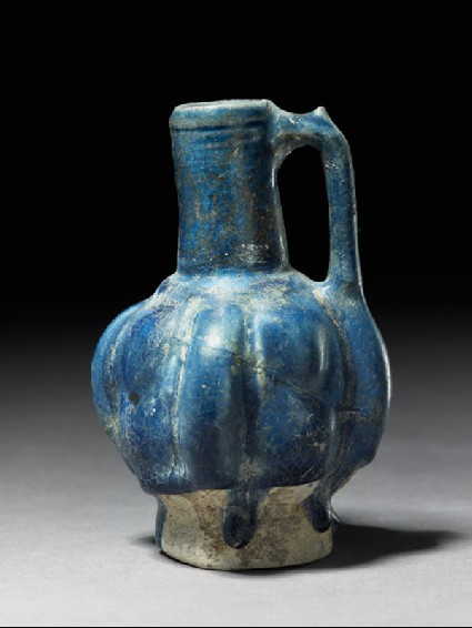 Jug with fluted bodyside