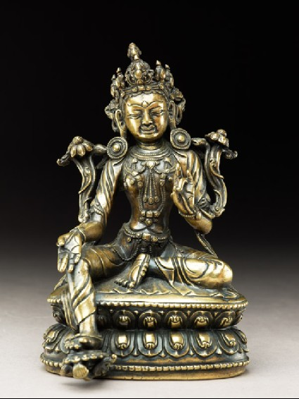 Seated figure of Tarafront