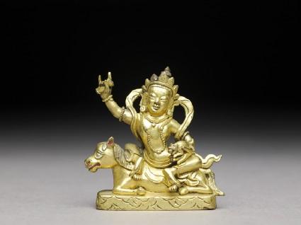 Figure of a bodhisattvafront