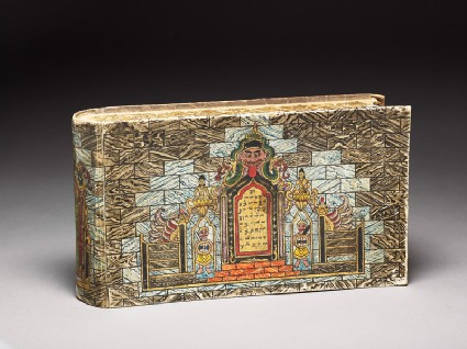 Box in the form of a booktop