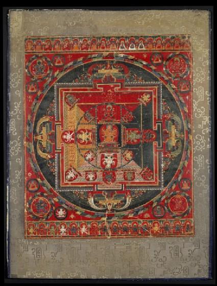 Mandala of Guhyasamaja-Manjuvajrafront
