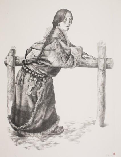 Tibetan Womanfront