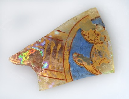 Fragment from a vessel with lionfront