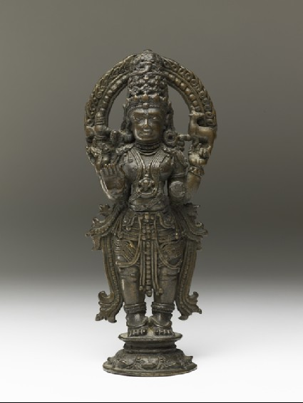 Standing figure of Shivafront