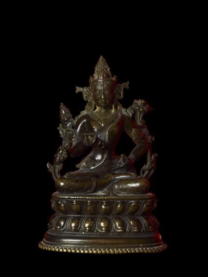 Seated figure of Vajrasattvafront
