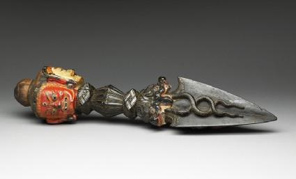 Phurbu, or ritual daggeroblique
