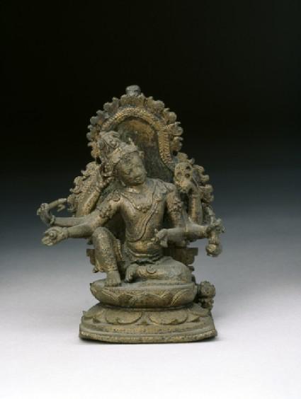 Figure of six-armed Avalokiteshvarafront