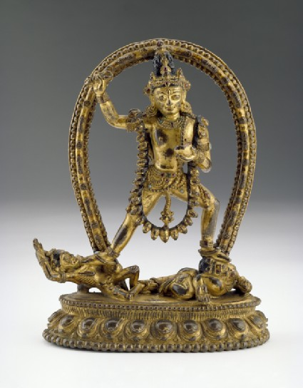 Figure of Vajrapanifront