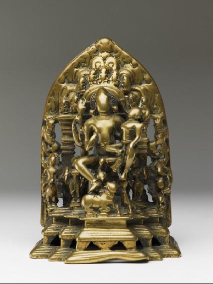 Figure of Shiva and Parvati (Uma-Maheshvara)front