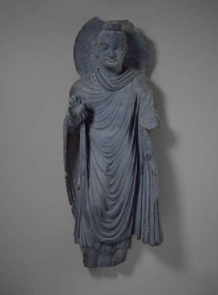 Standing figure of the Buddha Sakyamunifront
