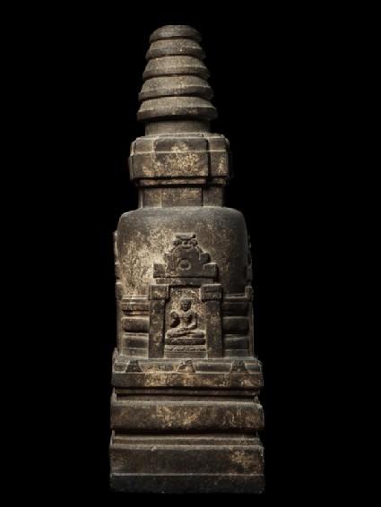 Votive stupaside