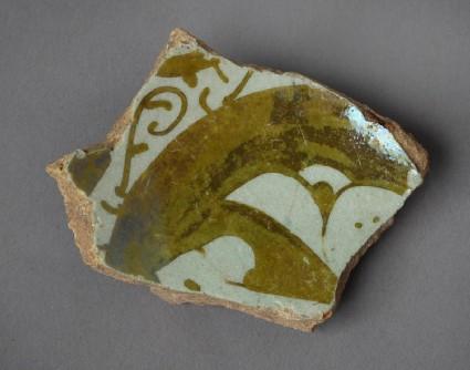 Fragment of lustrewarefront