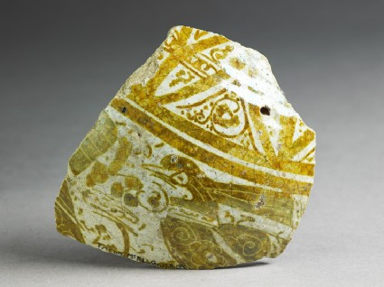 Fragment of a jar with birdfront