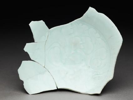 White ware sherdtop