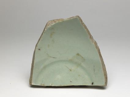 Greenware pot sherdtop