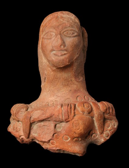 Bust of a female figurefront