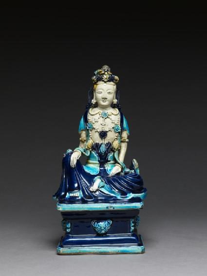 Fahua ware figure of a bodhisattvafront