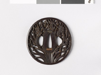 Tsuba with ears of ricefront