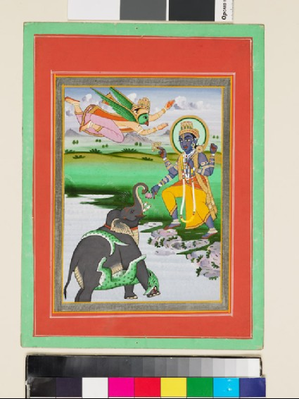 Krishna and the Elephantfront