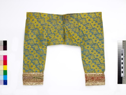 Child's trousers with floral patternfront
