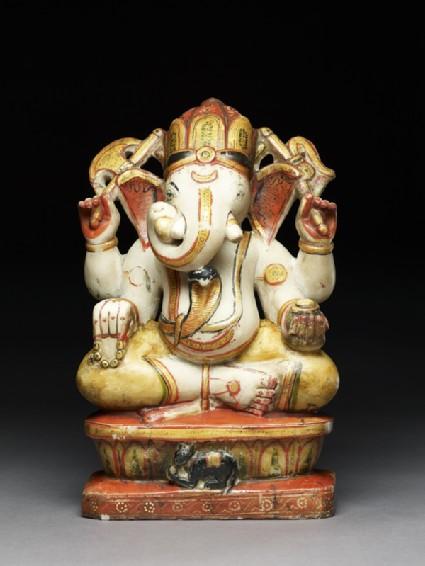 Soapstone figure of Ganeshafront