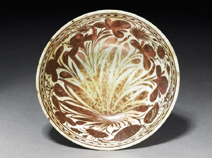Bowl with floral spraystop