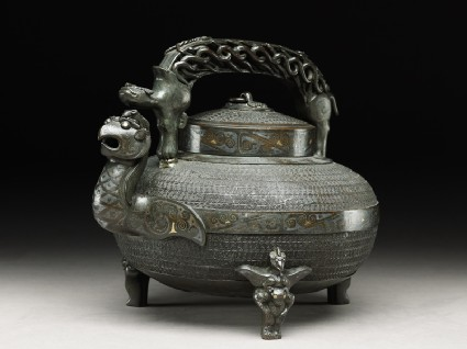 Imitation of an antique water vessel, or heside