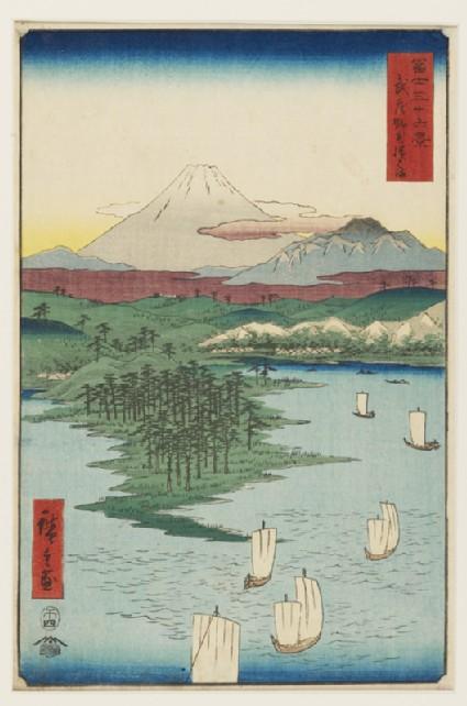 Noge and Yokohama in Musashi Provincefront