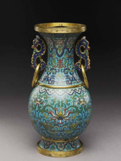Vase with archaistic decorationoblique