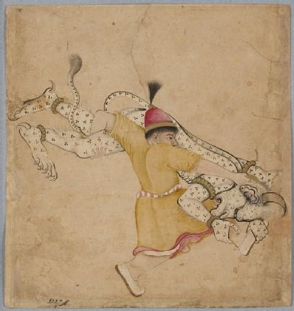 A hero wrestles a div, or demonfront