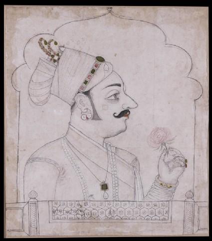 Maharaja Raj Singh of Juniafront