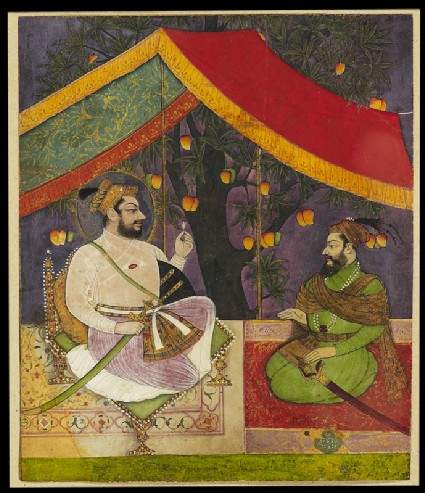 Sultan Ali Adil Shah II in campfront