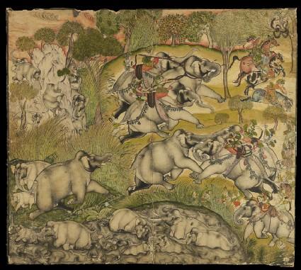 Elephant huntfront