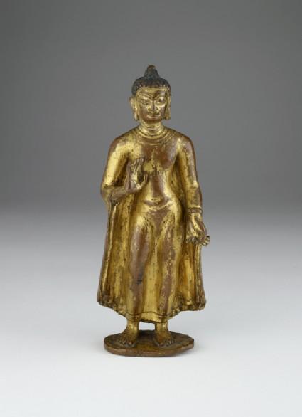 Figure of the Buddha Sakyamunifront