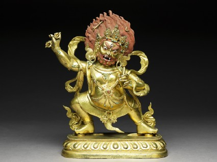 Standing figure of Vajrapanifront