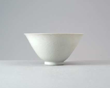 White ware bowl with two dragonsfront
