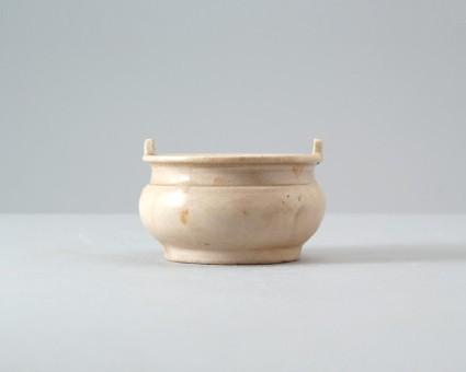 Dehua type white ware incense burnerfront