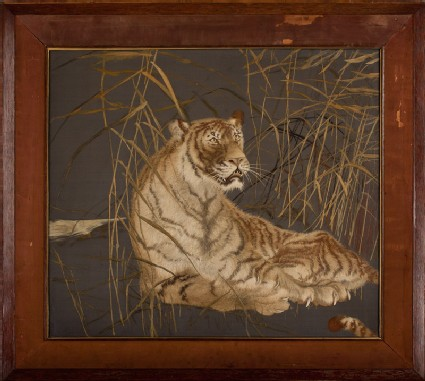 Tiger among reedsfront, Cat. No. 32