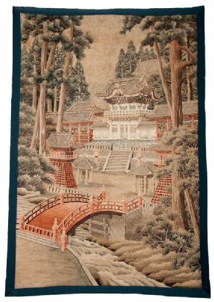 The Yōmeimon Gate and Shinkyō Bridgefront, Cat. No. 29