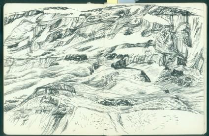 Sketchbook of landscapes from north west Chinafront