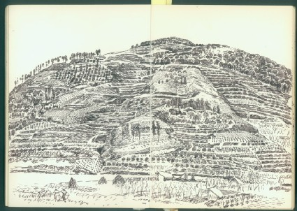 Sketchbook of landscapes from southern Chinafront