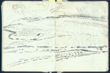 Sketchbook of Shaanxi landscapesfront