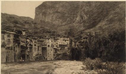 View of Pont-en-Royansfront